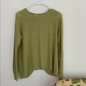 Loft Olive Green Sweater Size L